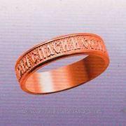 """Обручальное кольцо """"Спаси и сохрани"""" - изготовление фото"""