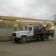 Услуги автовышки ВС 22 метра (Кобра), 30 метров, АП 17 метра телескоп (выдвижная). фото
