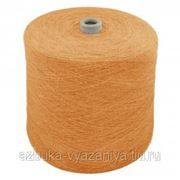 Пряжа на бобине,Canan tekstil, цв.154 коричневый, 30 шерсть/70% акрил,Турция фото