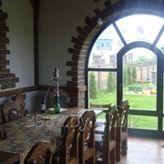 Окно деревянное из лиственницы фото