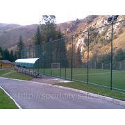 Строительство футбольных полей под ключ фото
