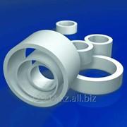 Кольца (втулки) фторопластовые из Ф4 по ТУ 6-05-810-88 и композиций по ТУ 6-05-1413-76 фото