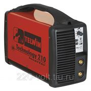 Сварочный инвертор Telwin Technology 210 фото