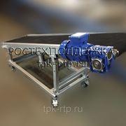 Конвейер ленточный наклонный передвижной фото