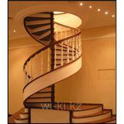 Изготовление лестниц из ценных пород дерева, лестничные маршы