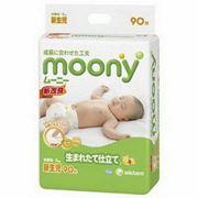 Подгузники Moony для новорожденных NB (от 0 до 5 кг) 90шт фото