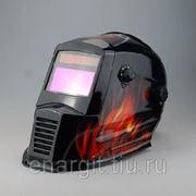 """Защитная маска для сварки """"ХАМЕЛЕОН"""" WH7000 ( пламя ) фото"""
