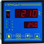 ПИД-регулятор температуры Термодат-13К5 - 4 универсальных входа, 4 симисторных выхода, 1 реле, интерфейс RS485, архивная память фото