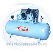 AIRCAST CБ4/C-100.LB75 компрессор поршневой с горизонтальным ресивером фото
