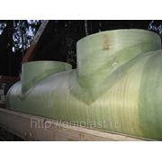Ливневая канализация | Очистные сооружения ливневых стоков из армированного стеклопластика фото