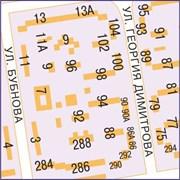 Настенная карта Самары 130х175 см для офиса фото