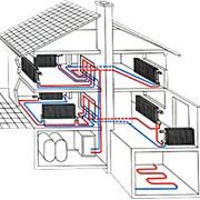 Монтаж систем отопления фото