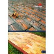 Тротуарная плитка Паркет из бетона фото