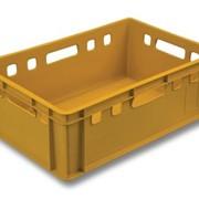 Ящик пластиковый мясной (Е2). Арт. 207 фото