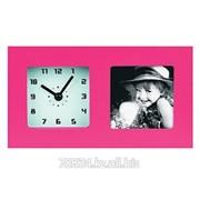 Часы с фоторамкой Старт WL/PL PHOTO 18 розовый фото