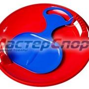 Санки Набор - Крутые виражи (Тобоган+ледянка) ПЛ-С6 фото