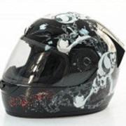 Мотошлем закрытый Шлем (интеграл), MICHIRU MI 150, Черный Тип 4 фото