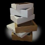 Ящики для хлеба, лотки под печенье, гофролотки, коробки фото