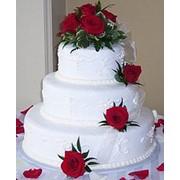 Торт, свадебный торт, торт на свадьбу. фото