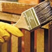 Огнезащитная обработка древесины и деревянных конструкций фото