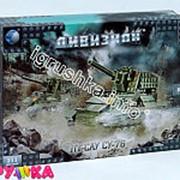 Конструктор пластиковый армия дивизион танк су-76 03-t7849r фото