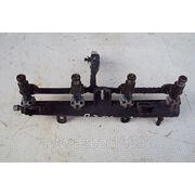 Рампа с форсунками (рейка топливная) 9653708980 для Пежо 206 2004 г.в. фото