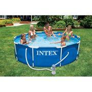 56997 Каркасный бассейн Intex Metal Frame Pool (305Х76см) В Коробке1шт. фото