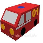 Контурная игрушка Фургон Пожарная машина ДМФ-МК-01.23.02 фото
