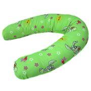 Подушка для беременности Радость - зеленые зайчики фото