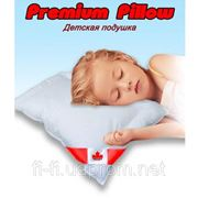 Подушка Premium Pillow 60*40 силикон, для новорожденных фото