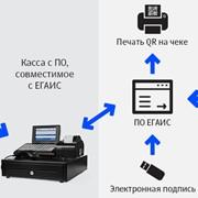 Подключение системы ЕГАИС фото