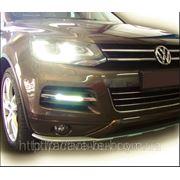 Штатные дневные ходовые огни DRL Volkswagen Touareg 2010+(В)