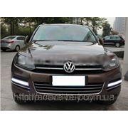 Штатные дневные ходовые огни DRL Volkswagen Touareg 2010+(А) фото