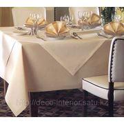 Скатерти, салфетки, чехлы для стульев, банкетные юбки, шторы, изготовленные на заказ и по размерам Заказчика. фото