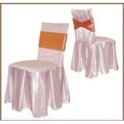 Чехлы на стулья (пошив).готовое изделия из ткани предприятия фото