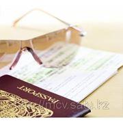 Водительские визы. Шенген фото