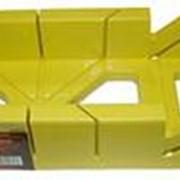 Стусло пластиковое широкое желтое 20806 фото