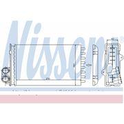 Радиатор печки PEUGEOT (пр-во Nissens)
