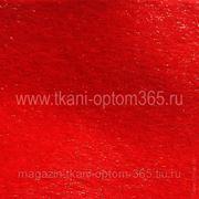 Искусственный мех под нерпу красный