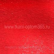 Искусственный мех под нерпу бордово-красный фото