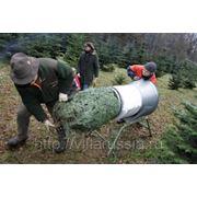 Воронка для упаковки новогодних елок фото