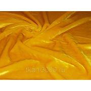Мех искусственный коротковорсовой золотистый фото