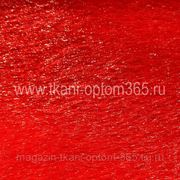 Искусственный мех под нерпу красный фото