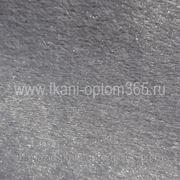 Искусственный мех под нерпу темно-серый фото