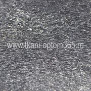 Искусственный мех под нерпу черный фото