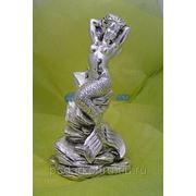 """Скульптура """"Русалка"""", серебро фото"""
