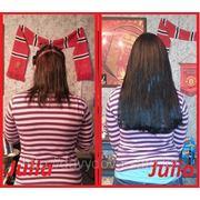 Профессиональное и качественное наращивание волос АКЦИЯ!!! от 47000тг. (работа+волосы) фото