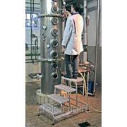 """Лестницы-платформы Krause Лестница с платформой """"Vario компакт"""" количество ступеней 5,ширина поперечной траверсы 0,82м 833006 фото"""