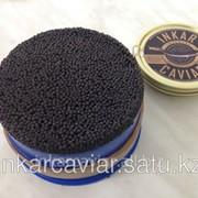 Икра осетровая черная зернистая малосол Inkar Imperial Caviar 1000 гр фото