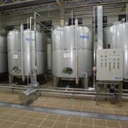 Оборудование емкостное из нержавеющей стали для промышленных производств фото